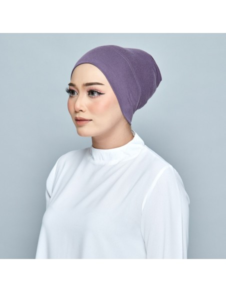 Tudung Dusty Purple - 1 Mataa Hijab