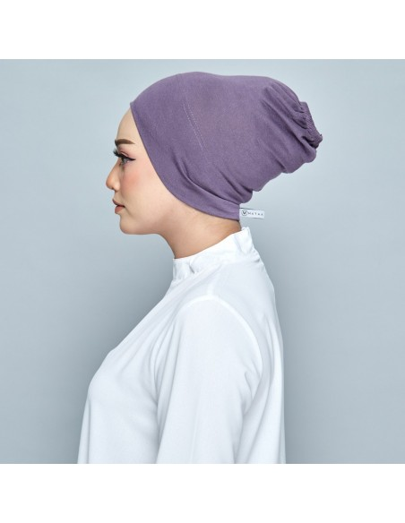 Tudung Dusty Purple - 2 Mataa Hijab